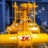 河北卓科长期供应 双向煤气放散全焊接球阀 碳钢全焊接球阀