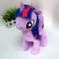 独角兽动漫公仔造型紫悦毛绒填充玩具来图定制批发