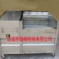 厂家直销 大姜毛辊清洗机 根茎类清洗去皮机 质量优 价格低