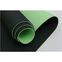 恒峰进口tpe材质双色6mm环保瑜伽垫防滑无异味