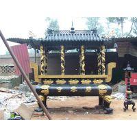 寺庙单层铸铜香炉、江西单层香炉、恒保发铜香炉批发