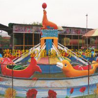 优质旋转升降8臂自控飞机 海豚戏水游乐设备厂家梦幻童缘生产