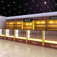 灵海展柜定制上海参茸展柜 精品红酒展示柜 高端虫草展柜