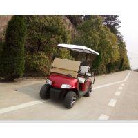供应精航四轮2+2座ezgo款3000W红色电动高尔夫球车休闲车旅游观光车 可定制
