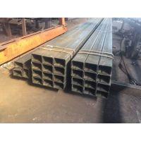 无缝方管 机械钢铁热轧Q235B镀锌矩形钢管 建筑大口径无缝方管