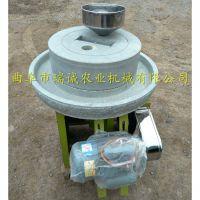 瑞诚机械自产电动石磨机 豆浆米浆石磨机