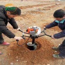 种树用的挖坑机 可以用拖拉机配套的挖坑机 加深地面螺旋钻眼机
