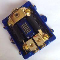 厂家直销保险座 一出二带数码显示 连接电源线主机功放低音炮