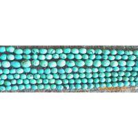 天国宝石 天然绿松石 莲米珠、桶珠、腰鼓珠