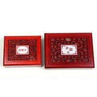 万汇高档复古典木盒子实木首饰盒手镯盒饰品盒串手把件摆件盒挂件