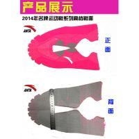 遨铭激光3D飞织运动鞋鞋面激光定位切割机