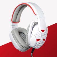 头戴耳机批发 定制网吧电脑发光游戏耳机 皮质耳套材质头戴大耳机