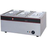 新粤海BS-3三盘电热汤池 商用保温汤池电热汤池 多功能保温锅汤锅
