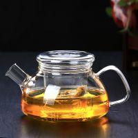花茶壶耐高温加厚泡茶壶过滤茶漏茶具玻璃茶壶玻璃茶具