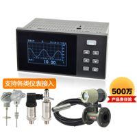 MIK200D无纸记录仪 1-4路 电流电压热电偶热电阻频率等信号