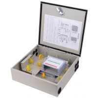 慈溪鼎通专业生产16芯光分路器箱冷轧板 室外防水1分16光分路器箱铁