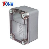 95×65×55mm透明盖机箱 透明盖外壳 防水盒