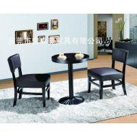 圆形木制餐台 木制圆桌 实木椅 实木餐厅家具(T540#)