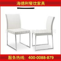 厂家特价直销 酒店 咖啡厅 中餐厅简约不锈钢软包餐椅 款式新颖