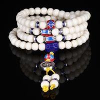天然海南菩提根新款原创白菩提根手串 菩提子108手串佛珠念珠批发