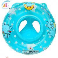 厂家直销 abc正品婴儿游泳圈带把手儿童座圈 加厚耐寒材大象座圈