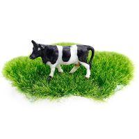 迷你小奶牛 微景观摆件 房子城堡 配件素材苔藓布景 DIY树脂小摆