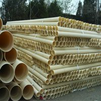 河北厂家生产PVC双壁波纹管110 PVC波纹管穿线管打孔管 15931473314