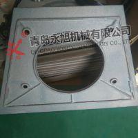 抛丸器用端护板