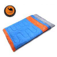 骆驼睡袋   双人情侣  春秋冬季加厚  户外露营成人睡袋