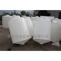 厂家直销马鞍山PE储罐1000升尖底PE水箱,PE塑料桶加工厂