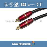 toslink 音视频光纤线 高清 高档金属系列 各种塑料光纤跳线