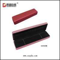 深圳包装盒厂 铁胚包装盒  项链盒  手链存放盒  PU皮革珠宝盒
