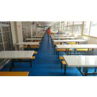 用在超市门口的餐桌椅 东莞康腾适合户外用的玻璃钢餐桌 不易褪色的餐桌椅