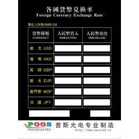供应银行利率牌红色1.2寸数字