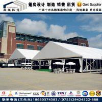 【特价优惠】 欧式尖顶篷房 展览展销帐篷 白色铝合金棚房