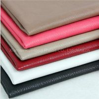 Soft and popular raw material PU leather for handbags and suitcases