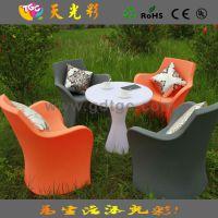 出口品质 户外彩色家具 休闲餐桌椅 咖啡厅桌子 西餐桌 快餐桌