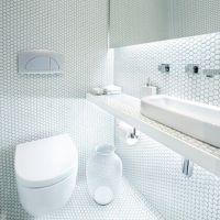 mm-mosaic 六角白色 陶瓷马赛克 瓷砖 亮光 库存供应批发厂家直销