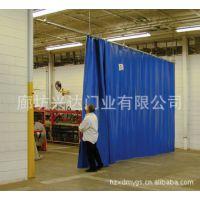 杭州兴达专业定做优质空调门帘、水晶软门帘