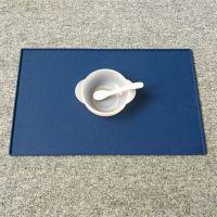 儿童专用硅胶防水餐垫 宝宝吃饭防洒硅胶隔热餐盘垫