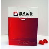 纸袋定制白卡手提袋企业袋服装购物袋定做厂家订做纸袋子