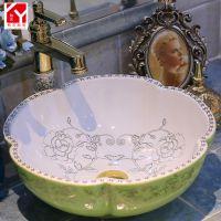 洗脸盆 台盆批发 加工定制洗脸盆 和艺陶瓷
