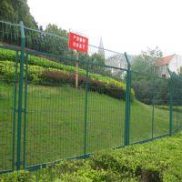 安平燊喆厂家直销浸塑双边丝护栏网 高速公路安全防护围栏 公路铁路安全护栏网