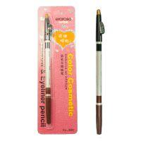 时代玫瑰 双头眉笔眼线笔 1笔双色 软笔芯易上色赠卷笔刀 37162
