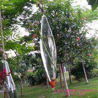 YiPan 水晶悬挂式锤形水培花瓶  透明插花器皿