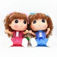 正品大号迷糊摇头公仔存钱罐 摩丝芭比娃娃儿童玩具 女孩生日礼物