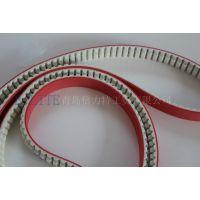 厂家直销各种型号PU聚氨酯加红胶 同步带 PU同步带 传动带