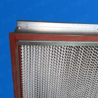 昆山烤箱专用耐高温高效过滤器、回风口H13耐高温高效过滤器