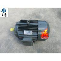 泊头玉康电机厂Y系列三相异步电动机/Y200L2-2级37kw纯铜线电机