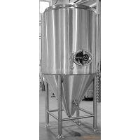 供应宝杰罐头机械:0.5T-6T啤酒酿酒发酵罐 不锈钢316 圆底和锥底